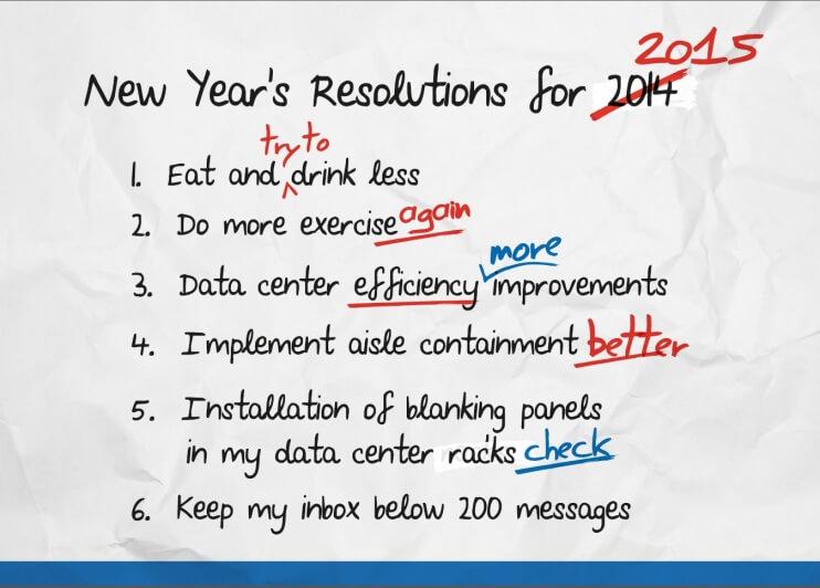 My Data Center New Year\'s Resolution