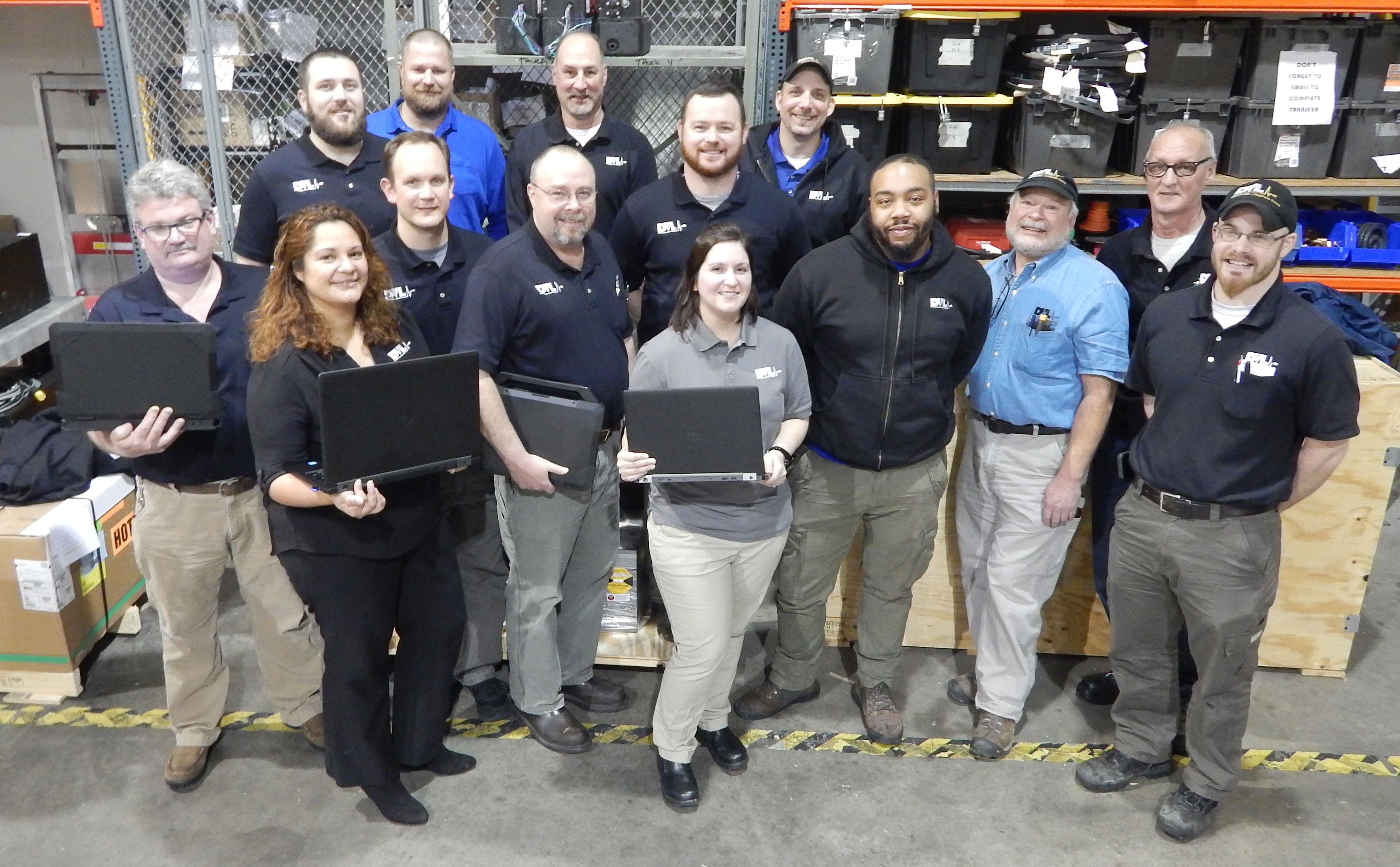 DVL Group HVAC Service technicians and coordinators. Liebert certified field services experts can service and support your equipment