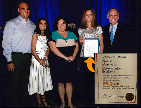 DVL Group presented with ESOP Association award