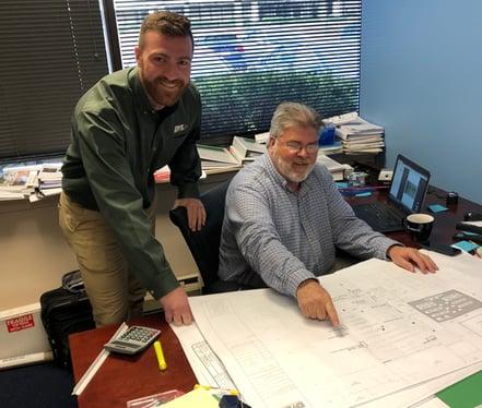 Data center construction teamwork