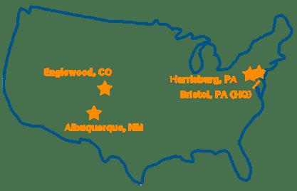 DVL Locations