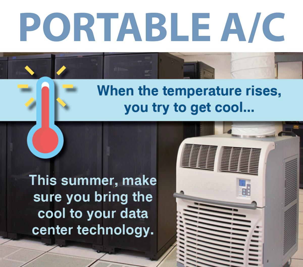Buy or Rent portable air conditioning