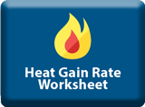 Heat Gain Rate Worksheet