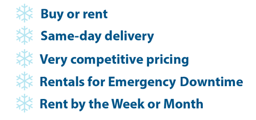 Buy or rent, same day delivery