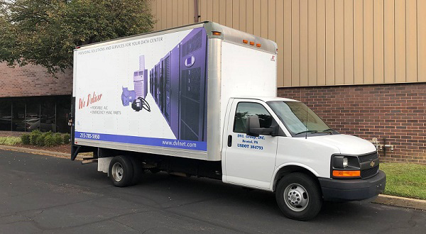 DVL Parts warehouse truck
