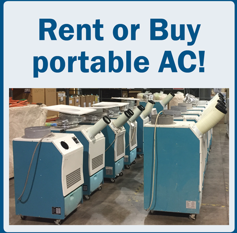 rent or buy portable air conditioning