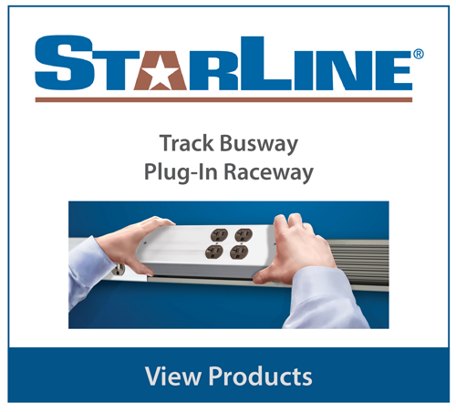 Starline products including track busway and plug-in raceway