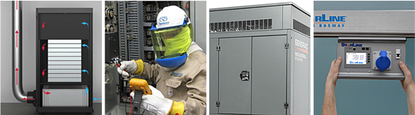 webinar IMAGE OF VERTIV starline and generac equipment