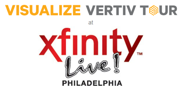 Visualize Vertiv Tour at XFinity Live