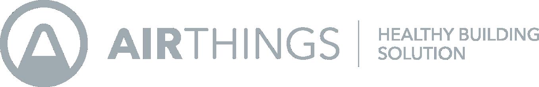 Airthings HBS LOGO - Horizontal - Grey - No Margin