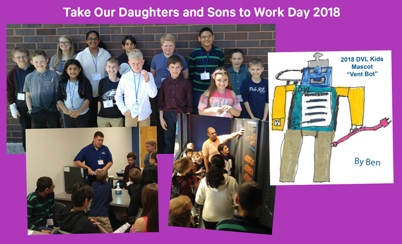 Take Our Daughters and Sons to Work Day 2018